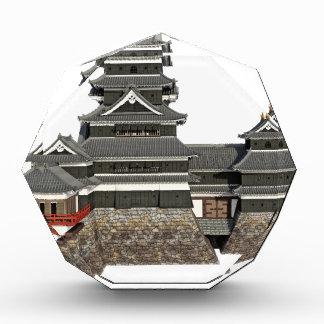 Classical Japanese Castle Acrylic Award