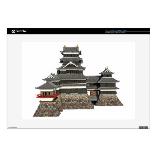 Classical Japanese Castle Decals For Laptops