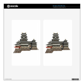 Classical Japanese Castle Kindle Fire Skin