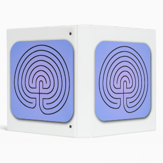 Classical Labyrinth 3 Ring Binders