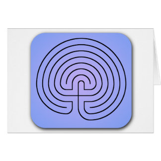 Classical Labyrinth Card