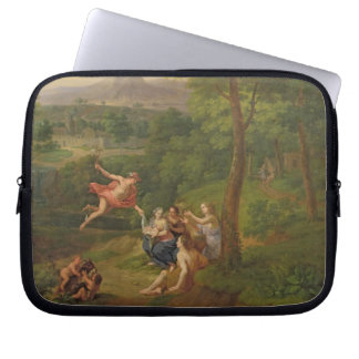 Classical Landscape with Mercury Overseeing the Bi Laptop Sleeve