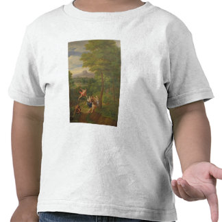 Classical Landscape with Mercury Overseeing the Bi T-shirt