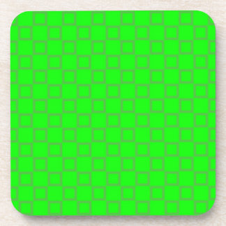 Classical light green Cork Coaster