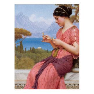 Classical Love Postcard
