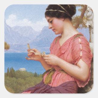 Classical Love Square Sticker