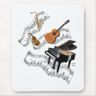 Classical Music Art Mouse Pad