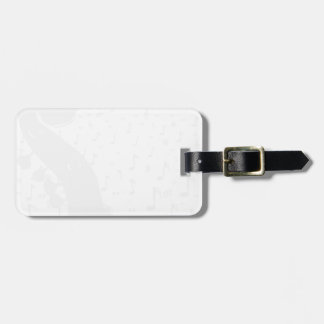 Classical Music Background Bag Tag