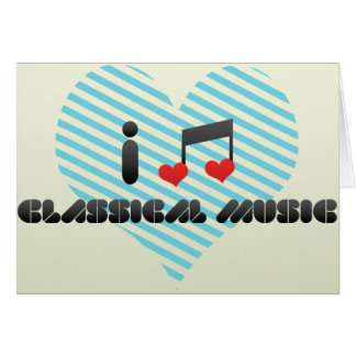 Classical Music Greeting Card