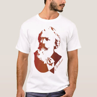 Classical Music Composer Johannes Brahms T-Shirt