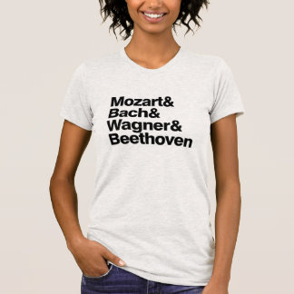 Classical Music Composers Band Funny T-shirt
