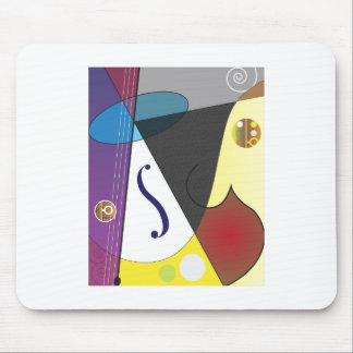 Classical Music Design Mouse Pad