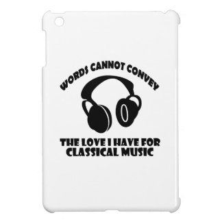Classical Music designs iPad Mini Covers
