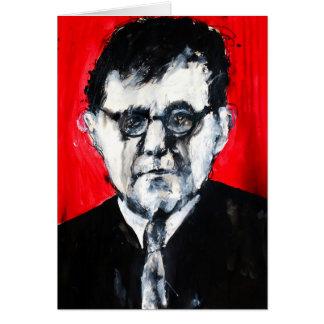 Classical Music Greeting Card - Shostakovich
