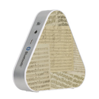 Classical Music Original Vintage Manuscripts Bluetooth Speaker