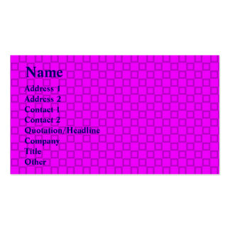 Classical pink and purple Business Card