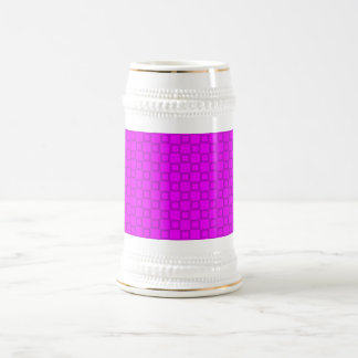 Classical pink and purple Stein Mug