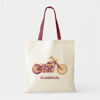 Classical -purp tote bag