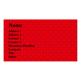Classical red and purple Business Card