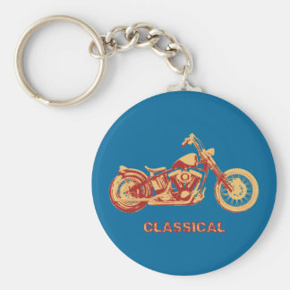 Classical -red keychain