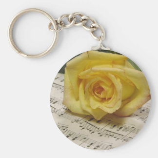 Classical Rose Keychain