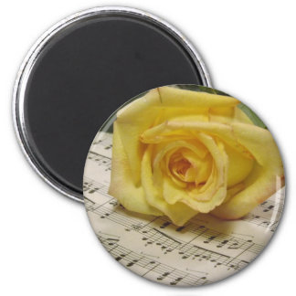 Classical Rose Magnet