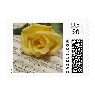 Classical Rose Postage Stamps