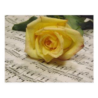 Classical Rose Postcard