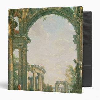 Classical ruins, 18th century 3 ring binders