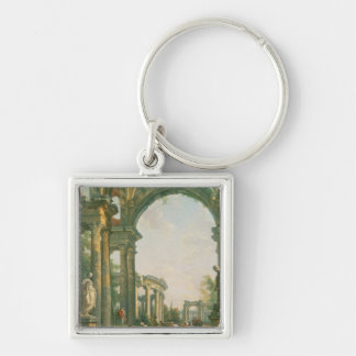 Classical ruins, 18th century keychains