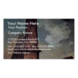 Classical Ruins By Robert Hubert Business Cards