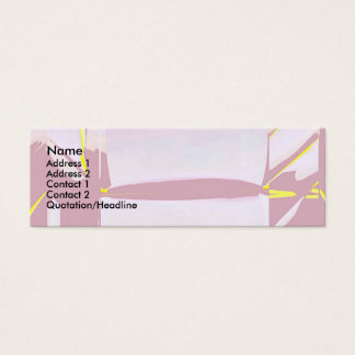 Classical Soft Mini Business Card