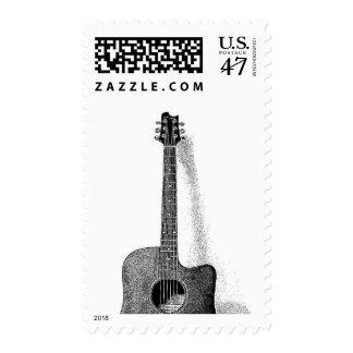 Classical Spanish Guitar Stamp