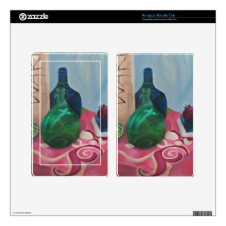 Classical Still Life Decals For Kindle Fire