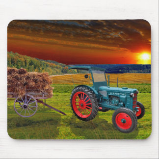 """Classical Trecker "" Mouse Pad"