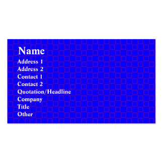 Classical vibrant blue with purple Business Card