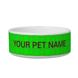 Classical vibrant light green Pet Bowl