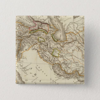Classical World Eastern Hemisphere Map Pinback Button