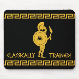 Classically Trained! Mouse Mat Mouse Pad