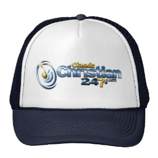 ClassicChristian247.com Ball Cap Trucker Hat