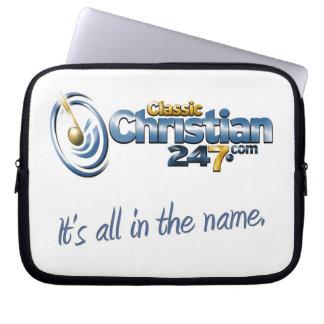 ClassicChristian247.com Laptop Bag Laptop Computer Sleeves