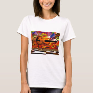 Classics in the air by Lenny T-Shirt