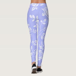 Classic's_Lavender_Floral-XS-TO--XL_Leggings_ Leggings