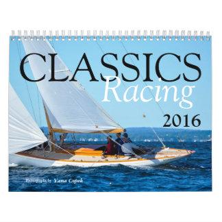 Classics Racing 2016 Calendar