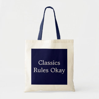 Classics Rules Okay Budget Tote Bag