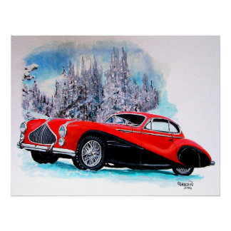 ClassicTalbot T26 Lago GS(1951) Posters