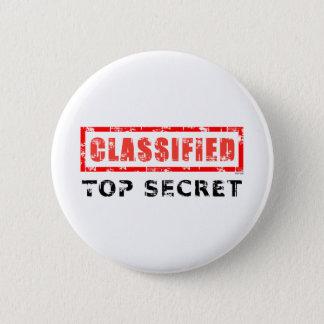 Classified Top Secret Button