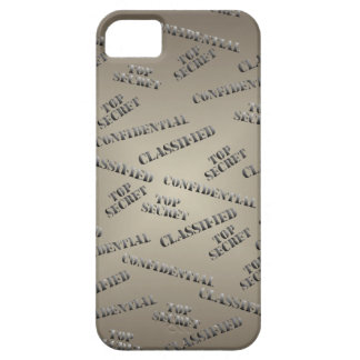 Classified Top Secret iPhone5 Case