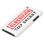 Classified Top Secret iPod Case-Mate Cases