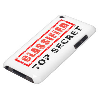 Classified Top Secret iPod Touch Case